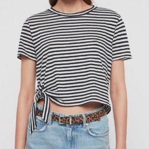 Brand new All Saints stripe shirt
